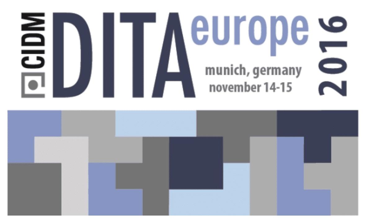 DITA Europe 2016